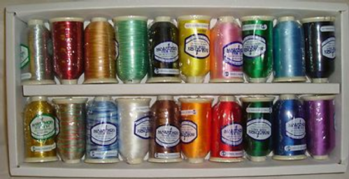 Marathon Embroidery Thread Rayon Fusion Box Set x 20 Reels